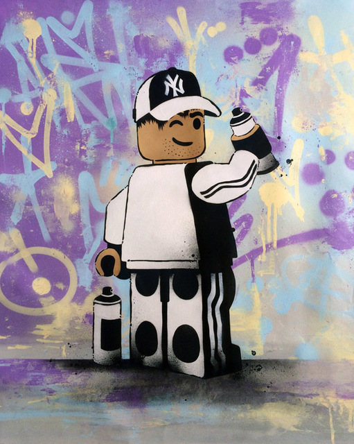 , 'Lego Graffitti,' 2017, ZK Gallery