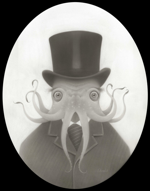 , 'Bob Cratchit Cthulhu,' 2017, KP Projects