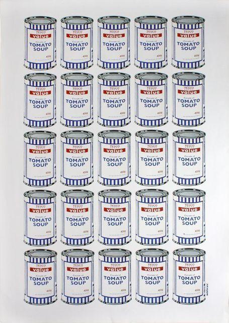 Banksy, 'BANKSY TESCO VALUE TOMATO SOUP CANS, ORIGINAL LITHOGRAPH LTD EDITION POW', 2010, Arts Limited