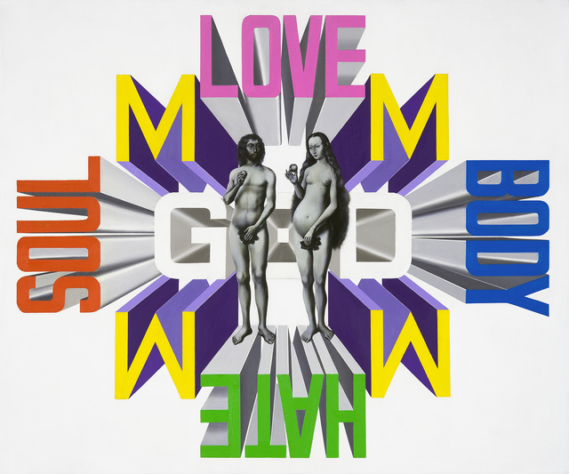 , 'Adam and Eve,' 2008, Parkview Green Art