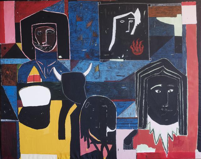 , 'All My Friends Lost in a Schoolbus,' 2017, Andersen's