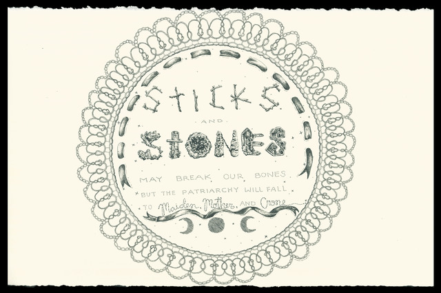 , 'Sticks and Stones,' 2017, The Southern