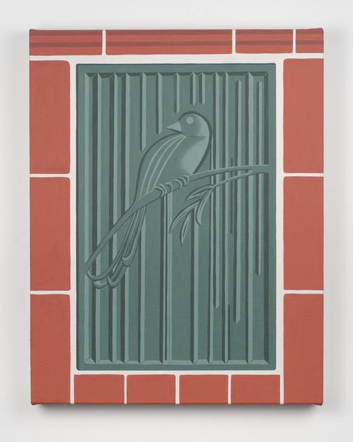 , 'Bird in Rain (Wharton Esherick),' 2018, Fleisher/Ollman