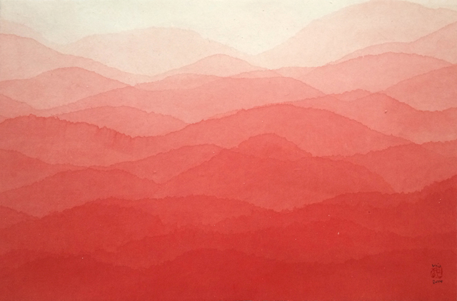 , 'Red Mountain,' 2014, Patrick Heide Contemporary