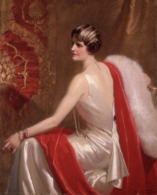 Frank O. Salisbury, 'Portrait of Marjorie Merriweather Post', 1934, Hillwood Estate, Museum & Gardens