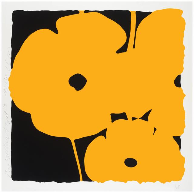 , 'Big Yellow, Sept 12, 2014,' 2014, Meyerovich Gallery