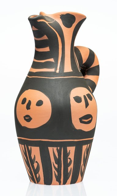 Pablo Picasso, 'Yan soleil', 1963, Terracotta pitcher, partially engraved, with black engobe, Heritage Auctions