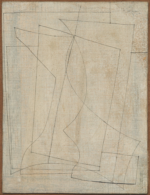Ben Nicholson, 'March 1955 (Goblet and vase)', 1955, DICKINSON