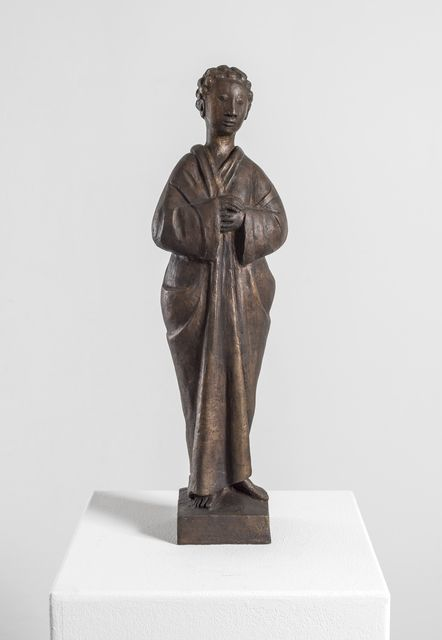 , 'Standing Robed Figure with Curls,' 1965 /posthumous cast 2011 , Galerie Thomas
