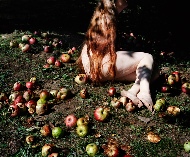 , 'Jenna and Fallen Apples,' 2017, Huxley-Parlour