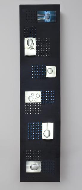Gyula Košice, 'Relieve Lumínico Azul', 1970, Museo de Arte Contemporáneo de Buenos Aires