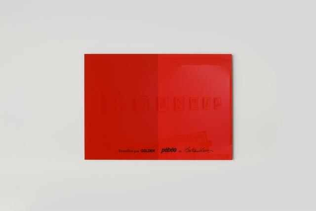 , 'Rouge Vermillon,' 2018, Galeria Solo / Eva Albarran & Christian Bourdais