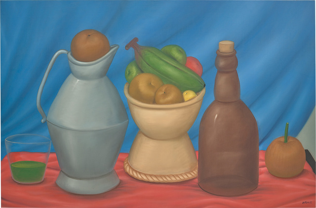Fernando Botero, 'Still Life with Bottle', 1982, Phillips