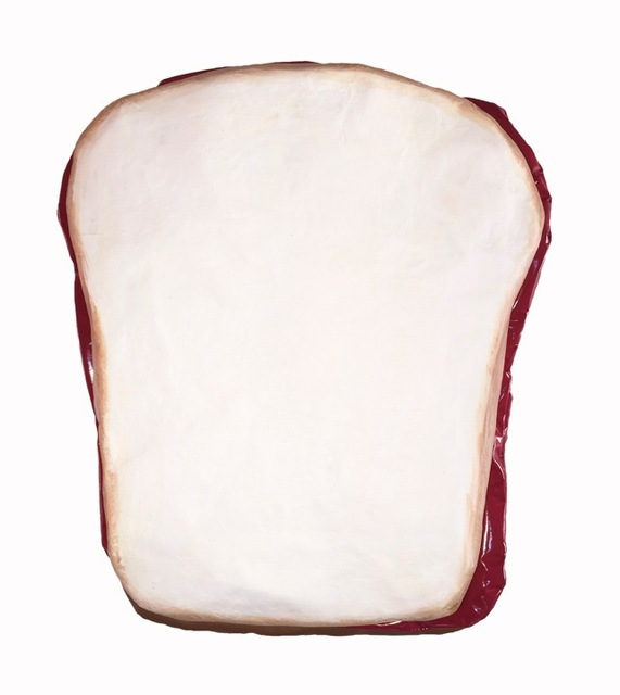 , 'Peanut Butter & Jelly Sandwich on White Bread,' 2016, Joshua Tree Art Gallery