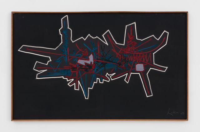 Georges Mathieu, 'Carnelle', 1965, Perrotin
