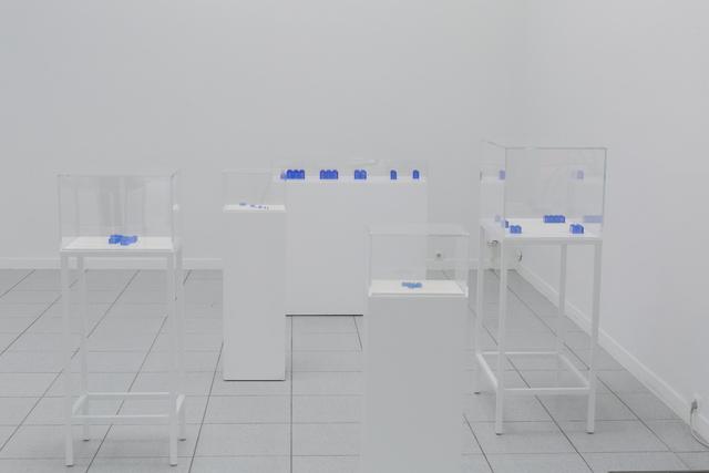 , 'Série Bleue,' 2014, Museum Dhondt-Dhaenens