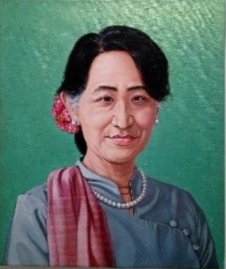 , 'First Lady Project- Aung San Suu Kyi,' 2016, Double Square Gallery