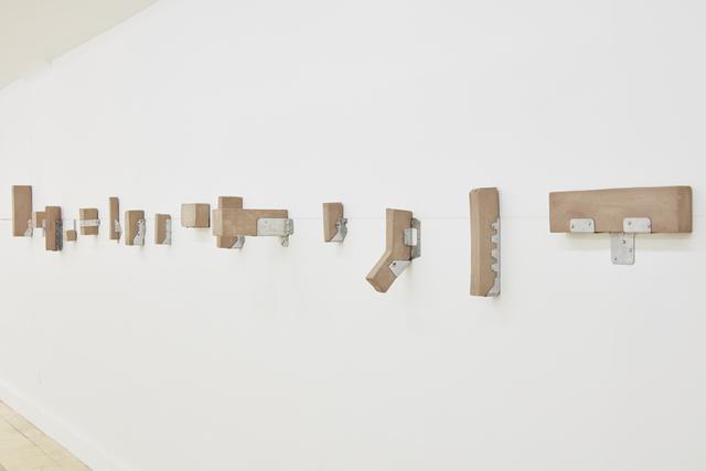 , 'Morfologías de contención,' 2016, 80M2 Livia Benavides