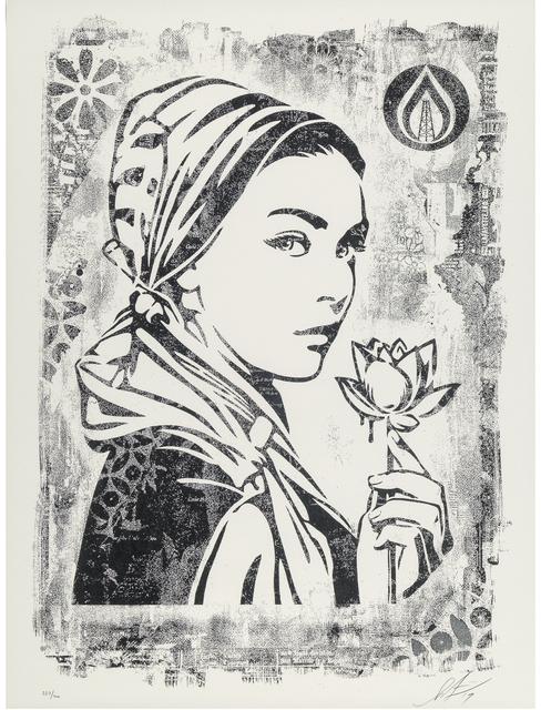 Shepard Fairey (OBEY), 'Damaged Stencil Series: Natural Springs ', 2017, Taglialatella Galleries
