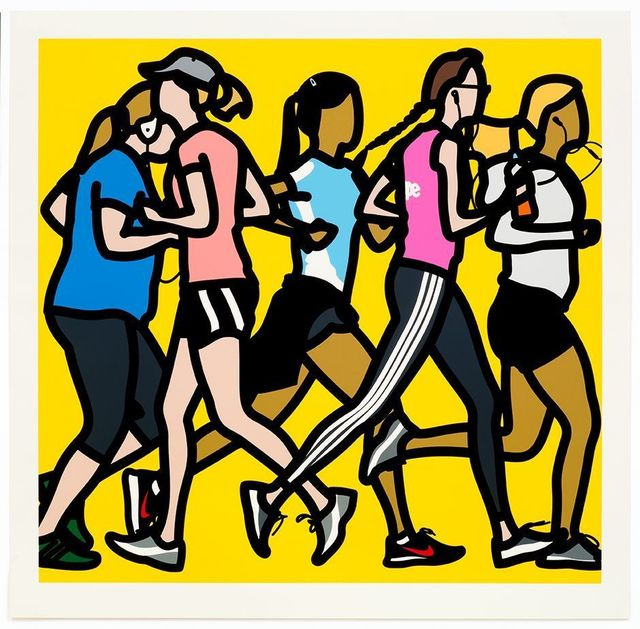 , 'Runners. Running Women.,' 2016, Galerie de Bellefeuille