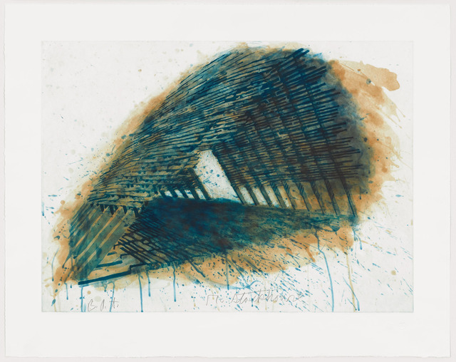 Robert Stackhouse, 'Blue Encounterings ', 1992, Graphicstudio USF