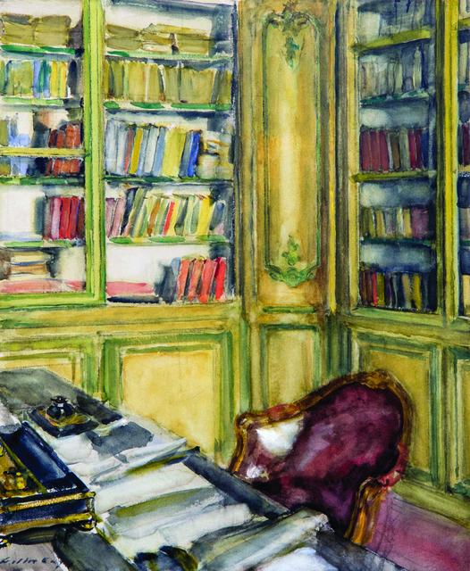 Walter Gay, 'Library at Château du Bréau', Early 20th Century, Mark Murray Fine Paintings