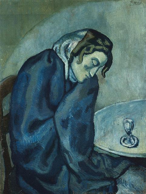 , 'Buveuse assoupie (Sleeping Drinker),' 1902, Kunstmuseum Bern