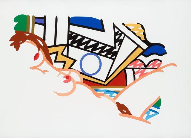 , 'Monica Nude with Lichtenstein,' 2002, Fine Art Mia