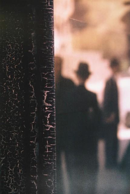 Saul Leiter, 'Cracks', 1957, Photography, Chromogenic print; printed later, Howard Greenberg Gallery