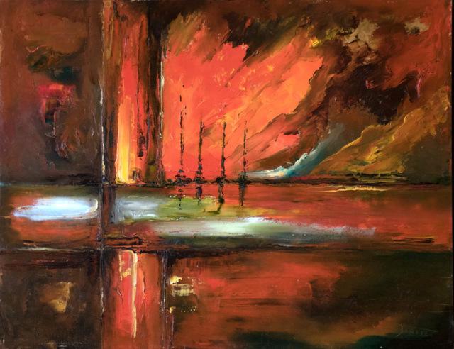 , 'Cruce II,' 2018, ACCS Visual Arts