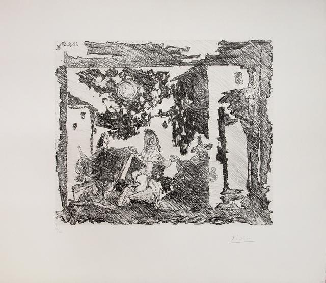 , 'Mise en Scène de la Célestine: Le gentilhomme est entraîné vers le bouge,' 1968, Galerie Raphael