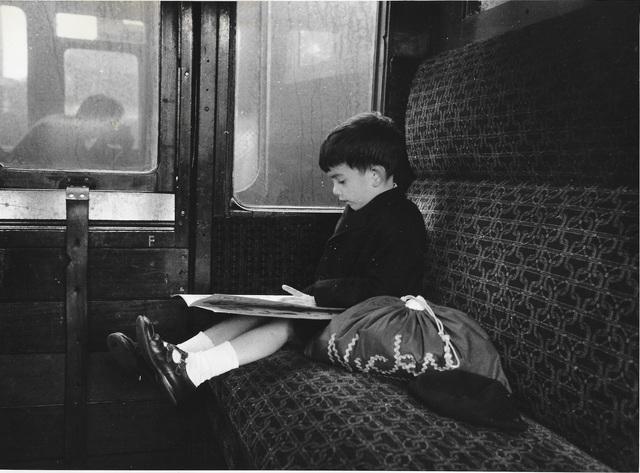 Erich Hartmann, 'Nick im train', ca. 1970, °CLAIR Galerie