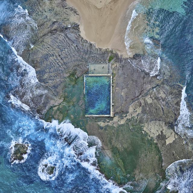 , 'Rock Pool, Australia,' 2016, Galerie de Bellefeuille