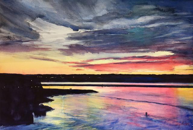 , 'Sunrise From New Brunswick,' 2018, 440 Gallery