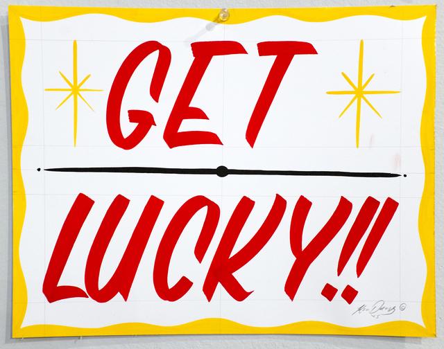 , 'Get Lucky,' 2015, ANNO DOMINI