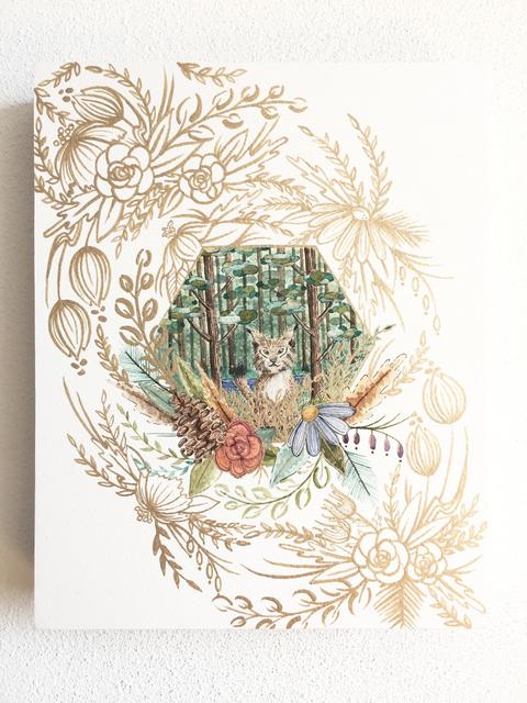 , 'Little Lynx,' 2017, Flower Pepper Gallery