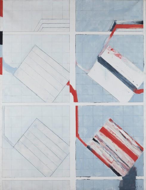 Rodolfo Aricò, 'Per una didattica', 1964, Painting, Oil on canvas, Cambi