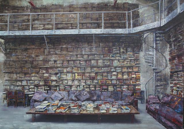 , 'Libreria con scala a chiocciola,' 2016, Ransom Art