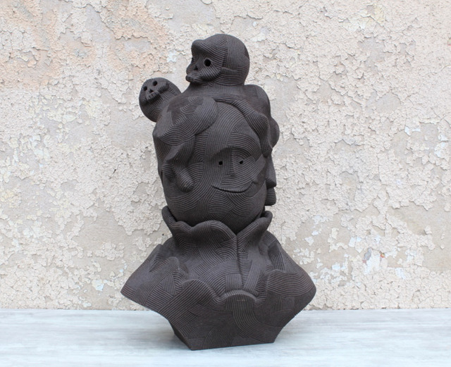 En Iwamura, 'NEO-JOMON: BLOODY MARY', 2019, Stems Gallery