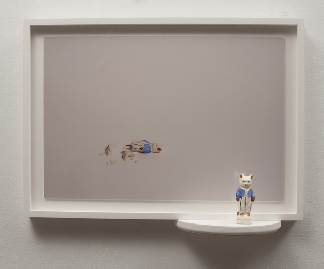 , 'Reconstruction - Cat With Blue Vest,' 2015, Espacio Mínimo