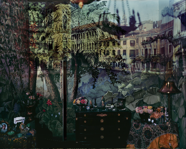 Abelardo Morell, 'A. Morell  2008 Camera Obscura: View of Volta del Canal in Palazzo Room Painted With Jungle Motif, Venice, Italy - Pigment Ink print 127 by 152.4 cms.jpg', 2008, Michel Soskine Inc.