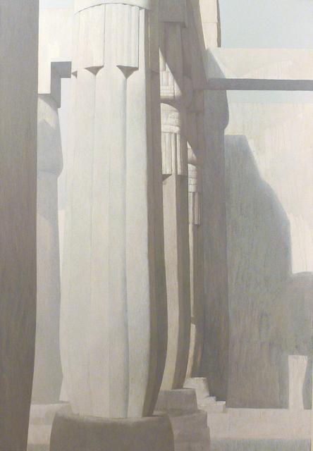 , 'Columns 7,' 2010, Hafez Gallery