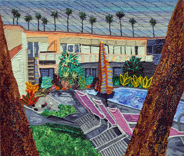 , 'Palm Springs Hotel Life,' 2017, Craig Krull Gallery