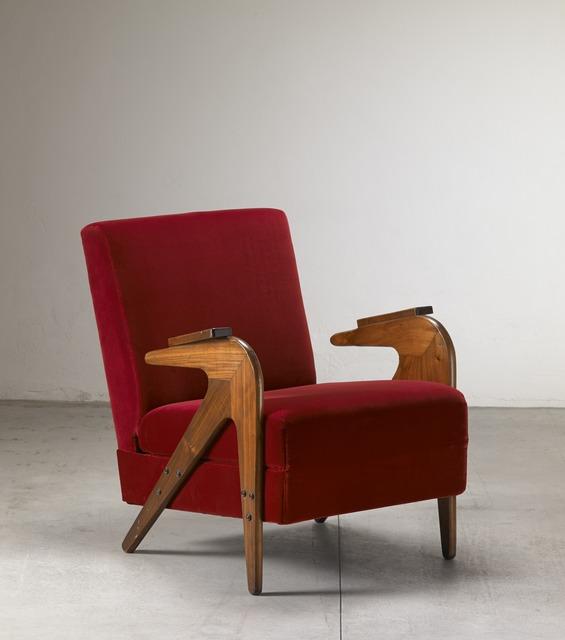 """, '""""Tridente"""" reclining armchair,' ca. 1949, Nilufar Gallery"""