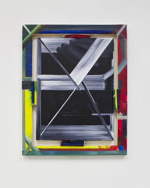 , 'Grey Painting: Text Version 56 (framed by text version 41, 2012),' 2015, Supplement