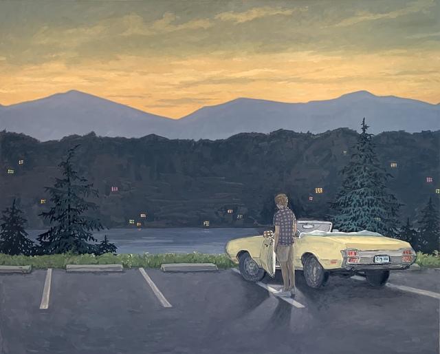 KK Kozik, 'Overlook', 2020, Painting, Oil on linen, Kenise Barnes Fine Art
