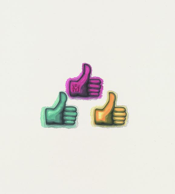 , '3 Thumbs Up,' 2016, Alisan Fine Arts