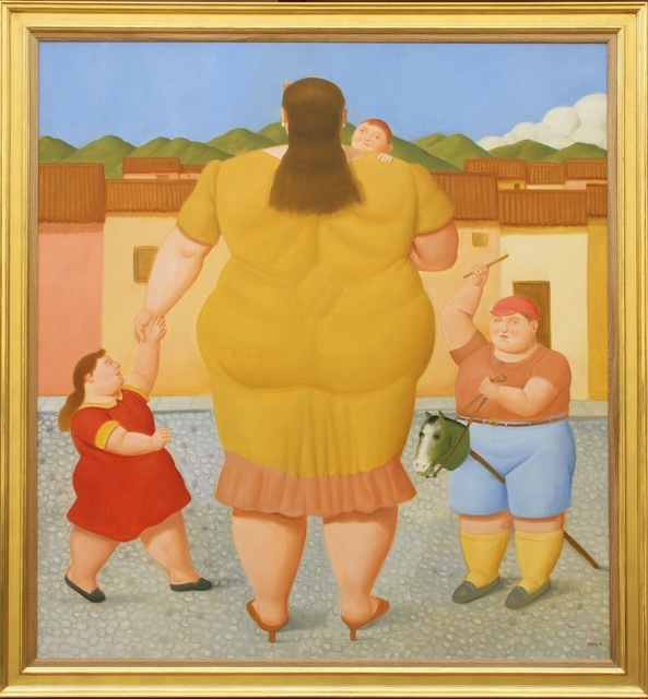 Fernando Botero, 'Woman with Children', 2018, Tasende Gallery