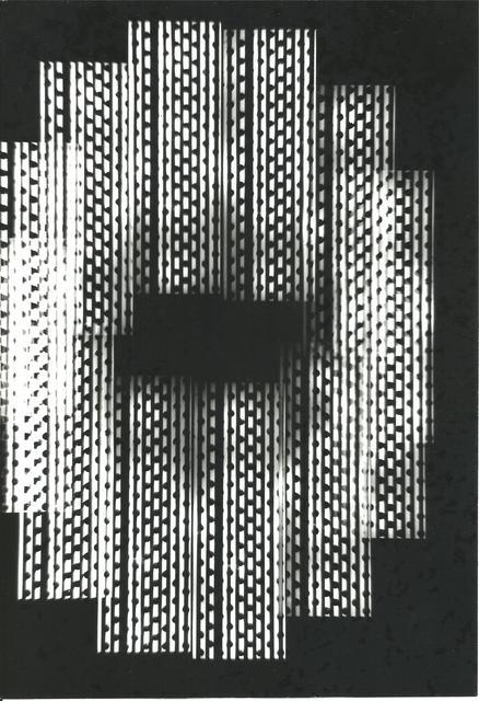 , 'Série Univers Tramé (Varetra Diversicateur Optique) Nr.1,' , Maddox Arts