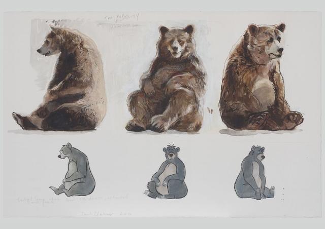 , 'The pure Necessity (unemployed bear),' 2017, Galerie Rüdiger Schöttle